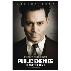 Creative Partners, poster for 'Public enemies', 2009