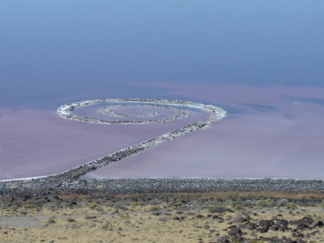 robert smithson spiral jetty essays