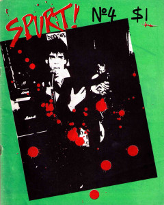 "Sydney fanzine, ""Spurt"", no 4, 1978"