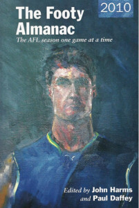 Geoff Dyer's portrait of Jonathan Brown for the cover of the 2010 Footy Almanac
