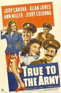 'True to the Army', 1942, Paramount Pictures, Arthur Rogell (dir.)
