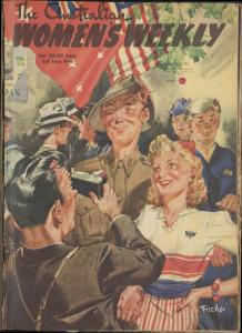 Australian Women's Weekly, 10 July 1943.